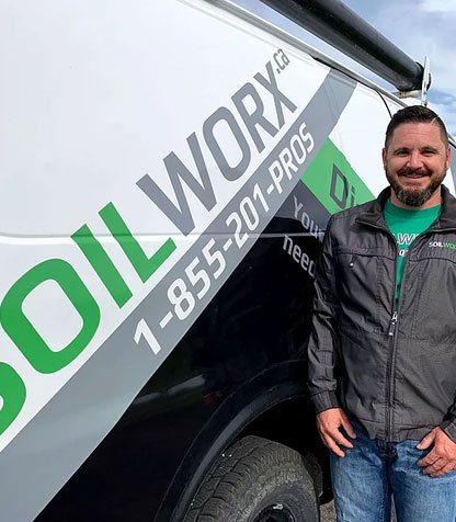 Chad with Soilworx
